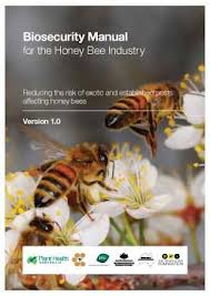 PHA honeybee biosecurity manual